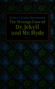 Cover of: The  strange caseof Dr. Jekyll and Mr. Hyde | Robert Louis Stevenson