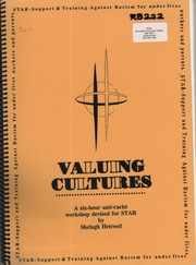 Valuing cultures by Shelagh Hetreed