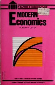 Modern economics PDF