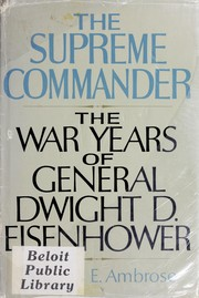 Cover of: The Supreme Commander by Ambrose, Stephen E.