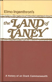 Cover of: The Land of Taney by Elmo Ingenthron