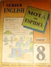 Cover of: Series English 8vo Grado by Flor Masmud de Espidel, María de Mota