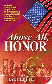 Cover of: Above All, Honor by Radclyffe