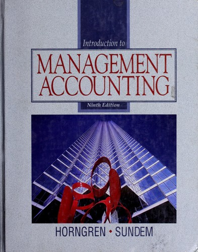 Download Introduction to management accounting