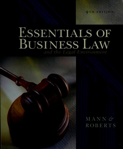 Download Essentials of business law and the legal environment