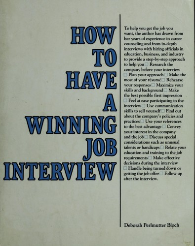 Download How to have a winning job interview