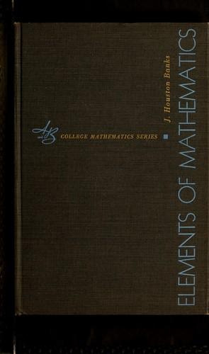 Download Elements of mathematics.