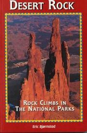 Desert Rock I Rock Climbs in the National Parks (Regional Rock Climbing Series) PDF