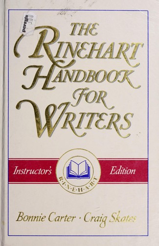 Download The Rinehart handbook for writers