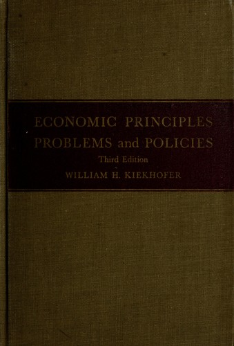 Download Economic principles, problems, and policies