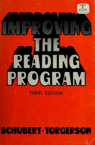 Download Improving the reading program