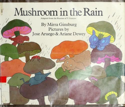 Mushroom in the rain.