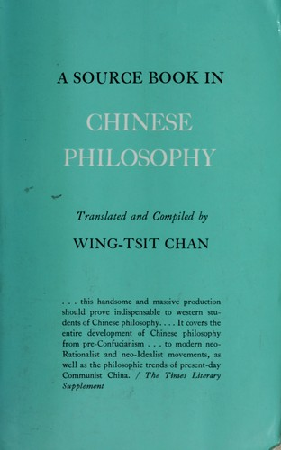 Download A source book in Chinese philosophy.