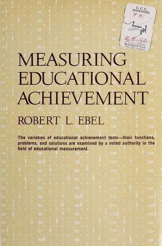 Download Measuring educational achievement