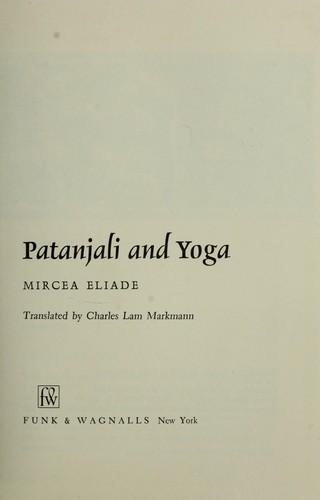 Patanjali and Yoga.