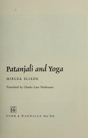 Patanjali and yoga by Mircea Eliade