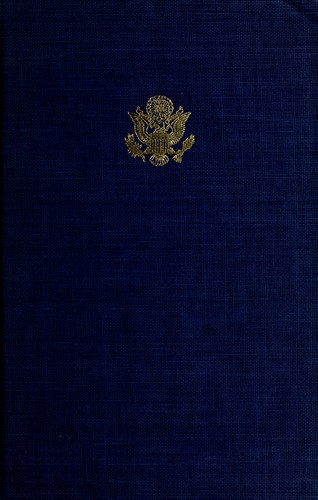 The State of the Union messages of the Presidents, 1790-1966.