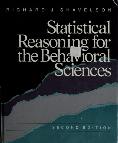 Download Statistical reasoning for the behavioral sciences