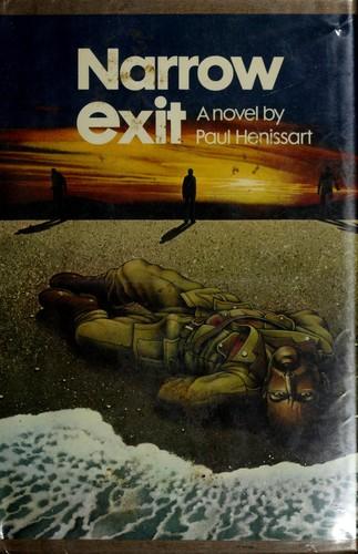 Narrow exit.