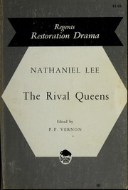 The rival queens by Nathaniel Lee