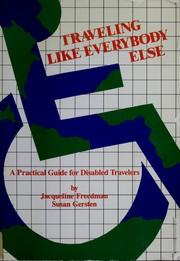 Traveling--like everybody else PDF
