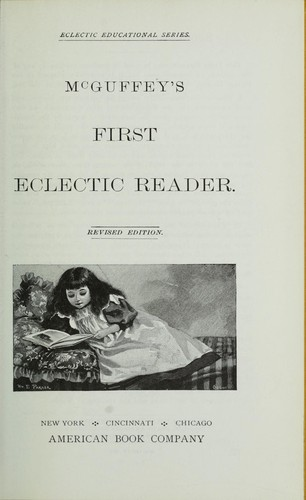 McGuffey's first-sixth eclectic reader.