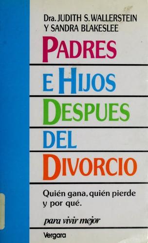 Padres e hijos después del divorcio