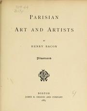 Parisian art and artists PDF