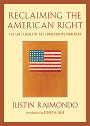 Cover of: Reclaiming the American right by Justin Raimondo