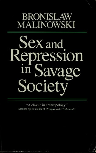 Download Sex and repression in savage society