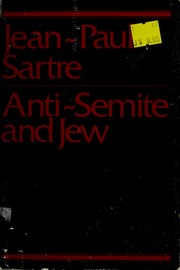 Cover of: Anti-Semite and Jew by Jean-Paul Sartre