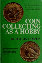 Coin collecting as a hobby by Burton Hobson