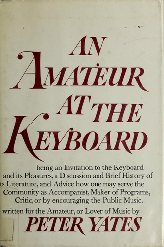 An amateur at the keyboard