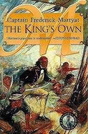 The king's own by Frederick Marryat