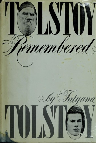 Download Tolstoy remembered