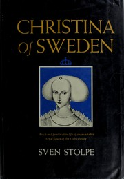 Christina of Sweden by Sven Stolpe