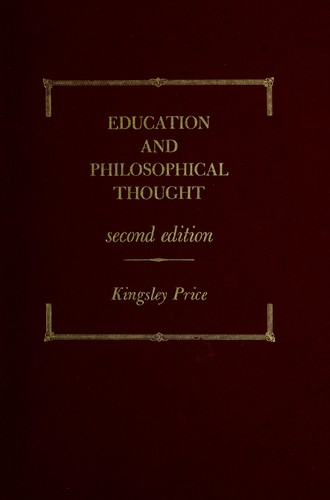Education and philosophical thought.