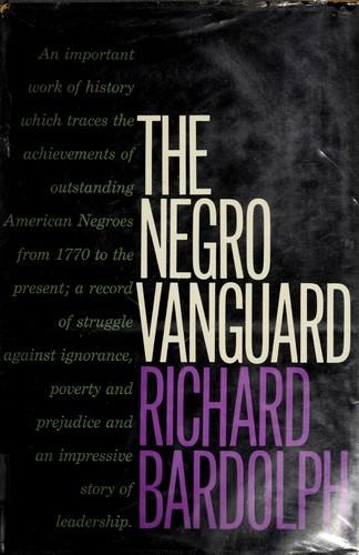 The Negro vanguard.