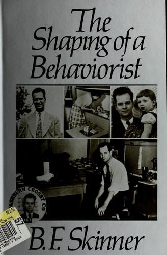 The shaping of a behaviorist