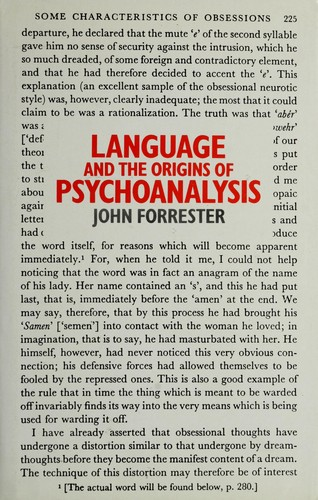Download Language and the origins of psychoanalysis