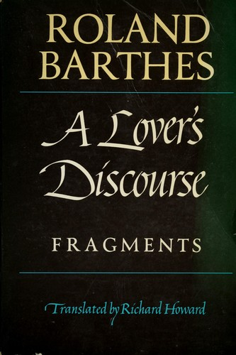 Download A lover's discourse