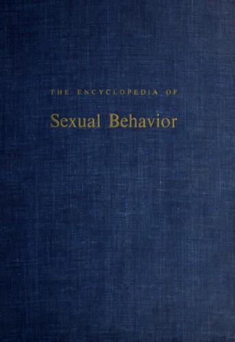 The encyclopedia of sexual behavior
