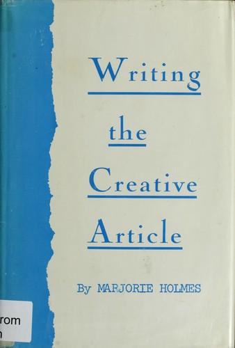 Download Writing the creative article.