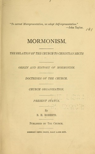 Download Mormonism.