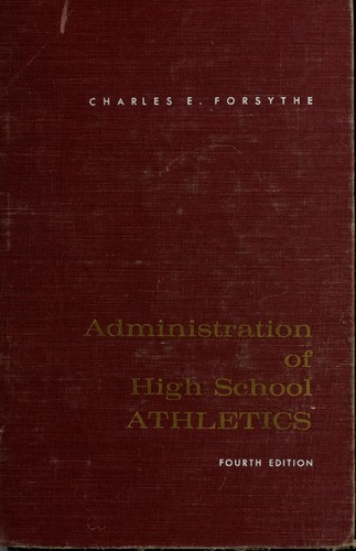 Administration of high school athletics.
