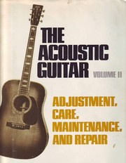 The acoustic guitar by Don E. Teeter