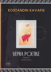 Cover of: Vepra poetike by
