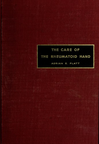 Download The Care of the rheumatoid hand