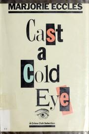 Cast a cold eye PDF