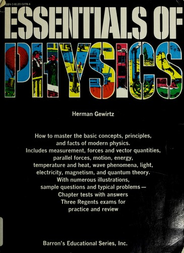 Essentials of physics.